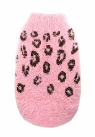 【HIP DOGGIE】冬物20%OFFアウトレット Feathersoft Sweater Cheetah XS-M 犬 服 小型 子犬 中型 おしゃれ かわいい 防寒 暖かい セーター ニット 秋 冬 チーター柄 7FSCP 7FSCC
