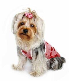 【HIP DOGGIE】10%OFFアウトレット HD Red Cherry Dress XXS-M 犬 服 小型 子犬 中型 おしゃれ かわいい 春 夏 ドレス さくらんぼ 3RCD