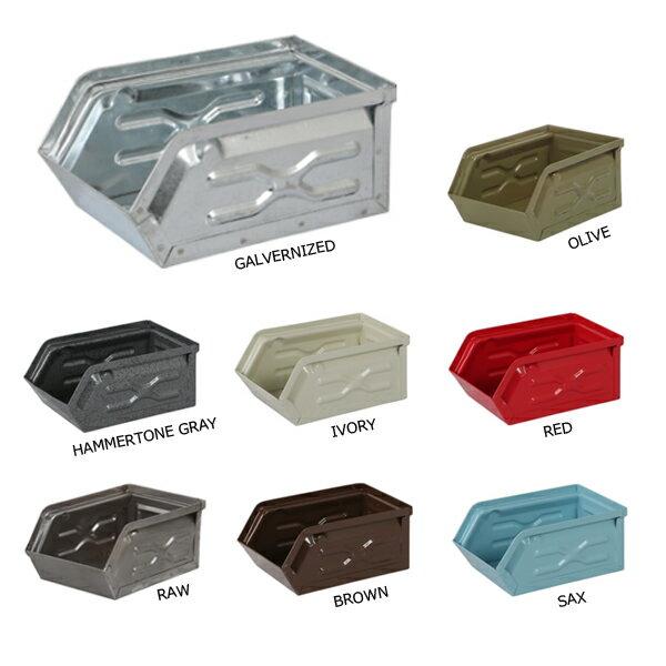 ミニパーツボックス(75×100×160mm)DULTON MINI PARTS BOX【ch15-h529】スチール・積み重ね・スタッキング・収納・小物入れ・ストッカー(ダルトン)