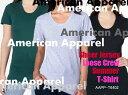 American Apparel(アメリカンアパレル) 3.8oz シアジャージー ルーズクルーサマーTシャツ【無地・半袖・ユニセックス・男女兼用】(AAPP-T6402)【0911】セール