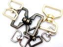 回転カン N15000 24mm(平)シルバー 首輪金具