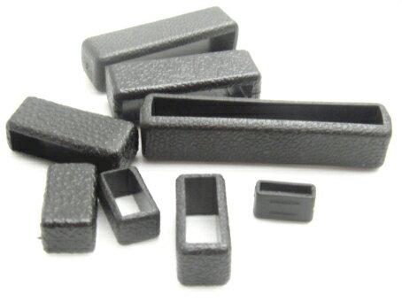 テープアジャスターサルカン(ひも止め) 10mm クロ A40000 首輪パーツ