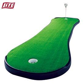 パター 練習 パターマット ツアーリンクス ドッグボーン DB-2PP ゴルフ ライト LITE Z-126 室内練習 自宅 屋内