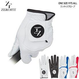 ゼロフィット ワンサイズグローブ インスパイラルグローブ 2019 新作 ゴルフ グローブ 手袋