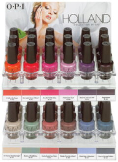 Opi Nail Lacquer Netherlands Collection By C Display