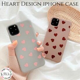 iphone 11 ケース 韓国 iphone 11 pro max おしゃれ アイフォン 11 プロ 可愛い iphonexr カバー かわいい iphonexs スマホケース iphone8 ハート ドット iphoneケース ペア シンプル ストラップホール付き 送料無料