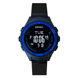 seiko wena wrist active Digital Solar head Blue