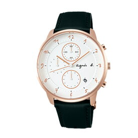 期間限定/ アニエスベー agnes b. 腕時計 メンズ/レディース クロノグラフ マルチェロ Marcello FBRW989 【正規品】【送料無料】【楽ギフ_包装】