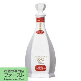ニッカ ブランデー XO デラックス 白 40度 660ml(りんごブランデー)(3)