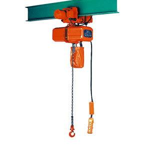 ニッチ 電気チェーンブロック ECTET4形 上下横行2速形電動横行式 三相200V 1tw 4点押ボタン式