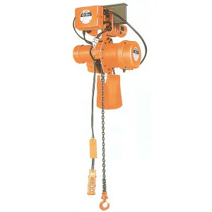 ニッチ 電気チェーンブロック MHE-5形 電動横行式 三相200V 2.0t 4点押ボタン式