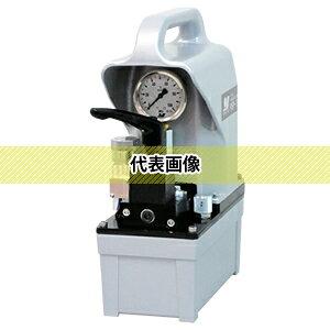 大阪ジャッキ製作所 PSP形 低騒音小形電動油圧ポンプ PSP-2.7JG 単動タイプ用 (有効油量:2.7L) (圧力計付・圧力スイッチ付無し)