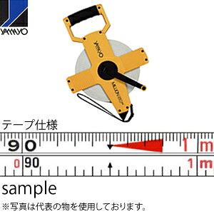 ヤマヨ測定器 ミリオンオープン OTR100 100m 繊維製巻尺