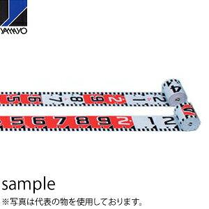 ヤマヨ測定器 リボンロッド両サイド100-E2 R10B10 10m 遠距離用現場記録写真用巻尺
