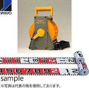 ヤマヨ測定器 リボンロッド両サイド120E2 ケース入 R12B10S 10m 遠距離用現場記録写真用巻尺