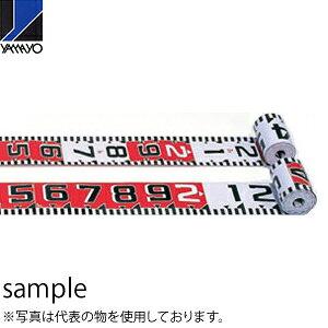 ヤマヨ測定器 リボンロッド両サイド150E2 R15B20 20m 遠距離用現場記録写真用巻尺