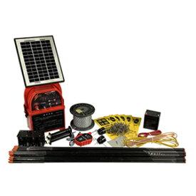 アルミス(ALUMIS) ファームガード FGN-10SET-S ソーラータイプ 100mセット 電気柵【在庫有り】【あす楽】