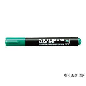 アズワン ホワイトボード用マーカー細字丸芯黒 1本 [7-5156-01]