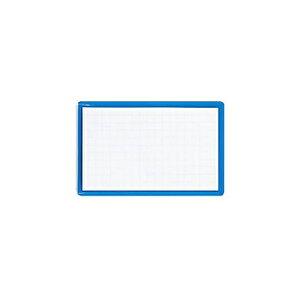 アズワン ソフト名札<イタメンクリップ>安全ピン・クリップ両用型横青ソフト 1枚 [61-0630-71]