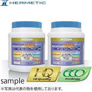 ヘルメチック 断熱塗料 ヴィータコート マジックール(Vitacoat magicool) クールグレー 16L