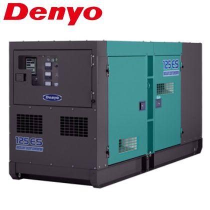 デンヨー 低騒音型ディーゼル発電機 DCA-125ESK (受注生産)
