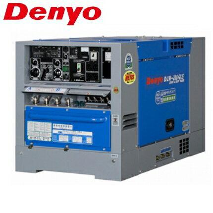 デンヨー 防低騒音型ディーゼルエンジン溶接機 DLW-200x2LS