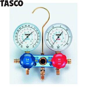 TASCO(タスコ) カーエアコン用ゲージマニホールド TA126