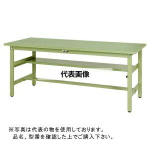 山金工業 ワークテーブル300シリーズ 固定式H740 中間棚付 SWS-S1 SWS-1590S1-GG [個人宅配送不可]
