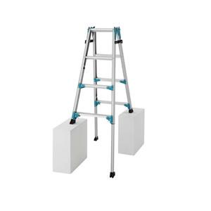 長谷川工業 アルミ製 はしご兼用脚部伸縮式脚立 RYX1.0-12 【在庫有り】【あす楽】
