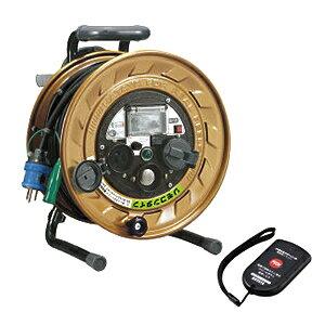 ハタヤ リモコン付 メタルセンサーリール (感度調整型) 金属感知機能付 温度センサー付 30mコードリール MSB-301KVRF [代引不可商品]