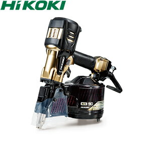 HiKOKI(日立工機) 高圧ロール釘打機 90mmモデル NV90HR2(S) パワー切替機構付 ハイゴールド ケース付