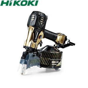 HiKOKI(日立工機) 高圧ロール釘打機 65mmモデル NV65HR2(S) パワー切替機構付 ハイゴールド ケース付