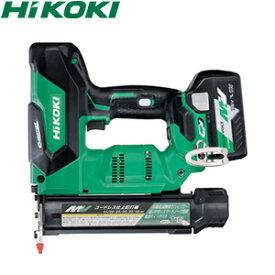 HiKOKI(日立工機) セット品 コードレス仕上釘打機 NT3640DA(XP) ケース付 36V/2.5Ah マルチボルト (電池×1個)【在庫有り】【あす楽】
