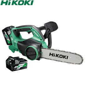 日立工機(HiKOKI) 36V/2.5Ah マルチボルト コードレスチェンソー CS3630DA(2XP) (電池×2個) 5120-0661【在庫有り】