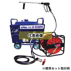 精和産業(セイワ) ガソリンエンジン高圧洗浄機(防音型) JC-1014DPN+(プラス) 標準セット(洗浄ガン・ドラム巻ゴムホース30m付属) [配送制限商品]