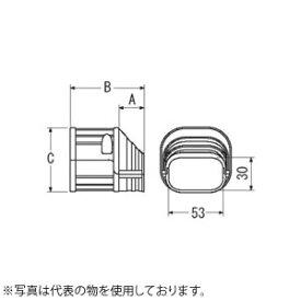 因幡電機産業 端末カバーSEN アイボリー 販売入数:10個