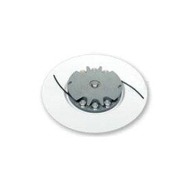 日立工機(HiKOKI) 刈払機用 ナイロンコードカッター 白い皿250mmさし込みタイプ 草刈り機用ナイロンコード【在庫有り】【あす楽】