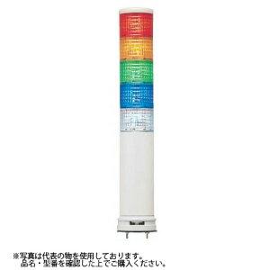 デジタル(旧アロー) LEUGWB-24W-3 積層式LED表示灯 φ60 3段赤黄緑 24V 点灯・点滅 ブザー付 (クリアグローブ)
