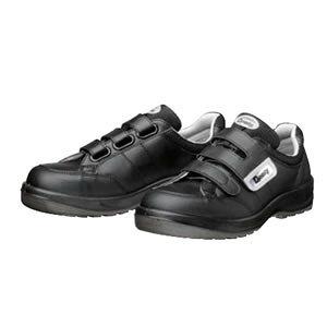 ドンケル ウレタン2層底安全靴 ダイナスティPU2 D-1004 マジック式/スニーカータイプ カラー:ブラック