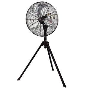 ナカトミ AF-50S 業務用扇風機(工場扇) 50cmエアーファン スタンド式 エアーモーター工場扇 [個人宅配送不可]