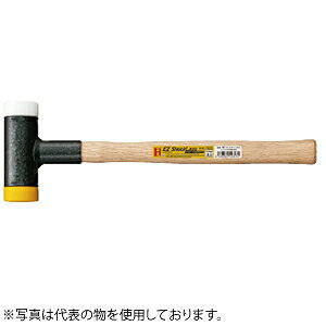 OH(オーエッチ工業) EZショックレスハンマー EZ-20 ショックレス構造 呼称:#2 全長:370mm [受注生産品]