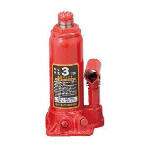 OH(オーエッチ工業) 油圧ジャッキ OJ-3T 呼び荷重:3t 高さ:最低194/最高372mm