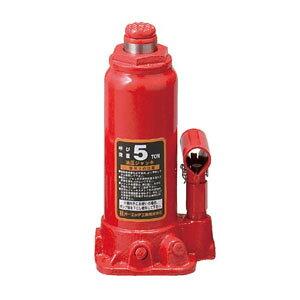 OH(オーエッチ工業) 油圧ジャッキ OJ-5T 呼び荷重:5t 高さ:最低216/最高413mm