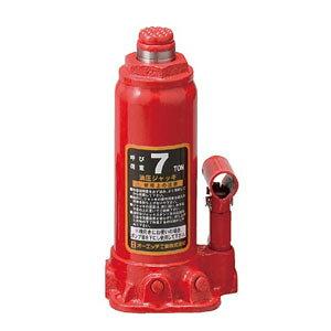 OH(オーエッチ工業) 油圧ジャッキ OJ-7T 呼び荷重:7t 高さ:最低230/最高457mm