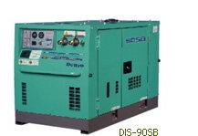 デンヨー エンジンコンプレッサーボックスタイプ DIS-90SB