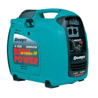 Denyo手提式汽油发电机GE系列GE-1400SS-IV(单相)
