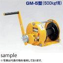 マックスプル 手動ウインチ GM型 回転式ウインチ GM-5