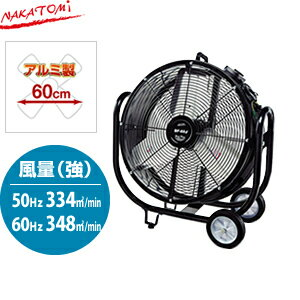 ナカトミ BF-60J 業務用扇風機(大型工場扇) 60cm全閉式ビッグファン【在庫有り】【あす楽】