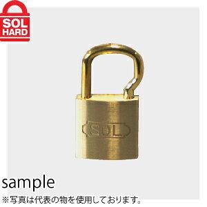 ソール No.2500 シリンダー南京錠 ツル長 25mm 普通品 単品