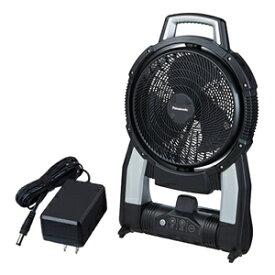 パナソニック 工事用充電扇風機 EZ37A4-B 本体のみ (電池・充電器別売) ACアダプタ付【在庫有り】【あす楽】